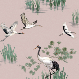 Dutch Utopia 91153 Heath Crane Pink