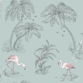 Dutch Imaginarium 12380 Flamingo groen roze