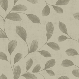 Dutch Design 12020 Leaves beige grijs