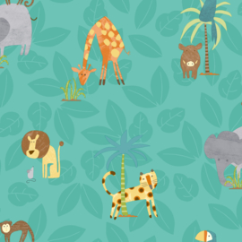 Dutch Make Believe 12542 Jungle Friends groen