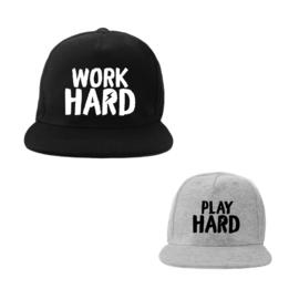Caps Work Hard Play Hard