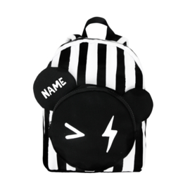 Bear Backpack Stripe Personalised SMALL