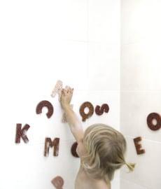 Bath Letters Pink (5 PCS)