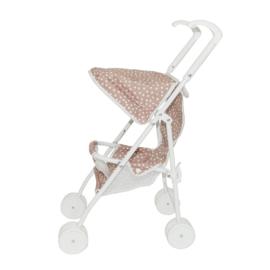 Stroller Pink Dots (10 pcs)