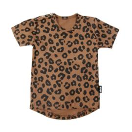 Tee Leopard Caramel Short