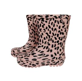 RainBoots Pink Leopard
