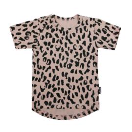 Tee Blush Pink Leopard Short SS20