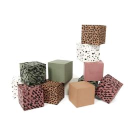 Foam Blocks  GREEN + Storage Bag  Personalised