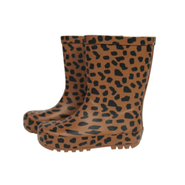 Rainboots Caramel Spots