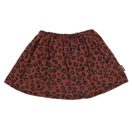 Skirt Red Leopard