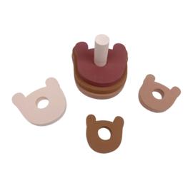 Stacking Toy Bear Pink (27 pcs)
