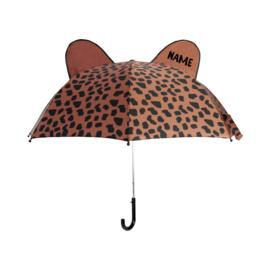 Umbrella Caramel Spots Personalised