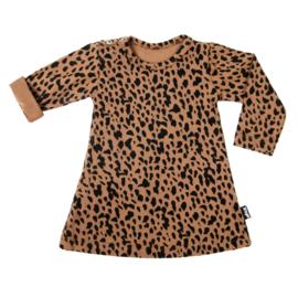 Dots Dress Caramel