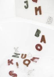 Bath Letters Green (5 PCS)
