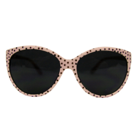 Sunnies Pink Dots Adult (12 pieces)