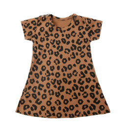 Dress Caramel Leopard Short