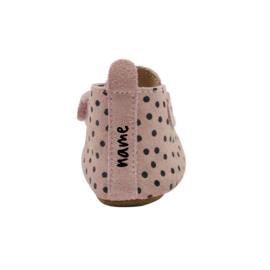 Booties Pink Dots Name