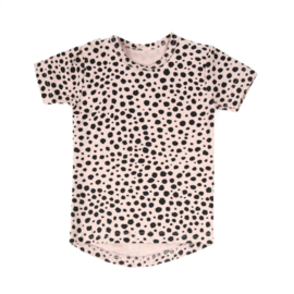 Tee Dots Blush Pink Short