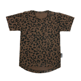 Tee Brown Leopard Short SS20
