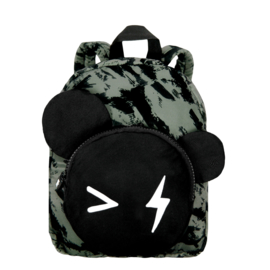 Backpack Bear Green Distress  SMALL