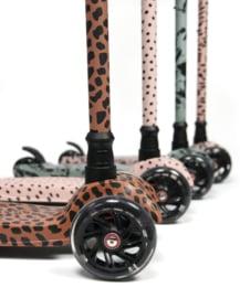 Scooter Dark Pink Leopard (6 PCS)
