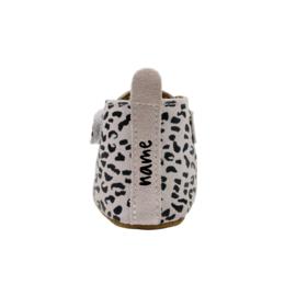 Booties Ecru Leopard Name