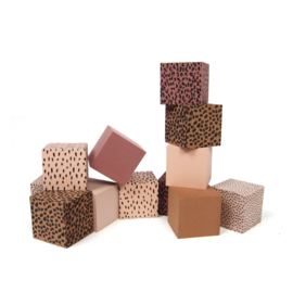Foam Blocks PINK + Storage Bag (5 sets)