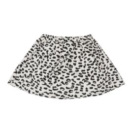 Skirt Ecru Leopard