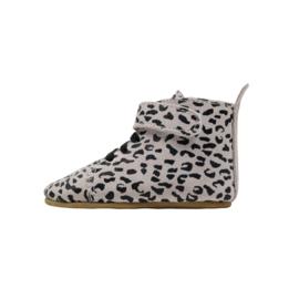 Booties Ecru Leopard