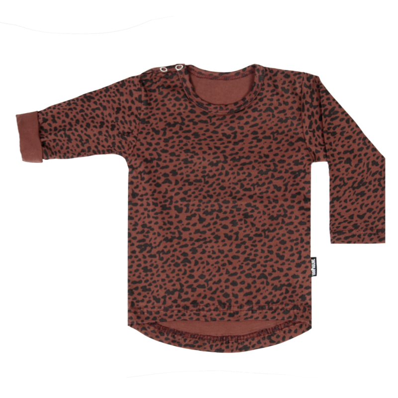 Tee Red Dots Long