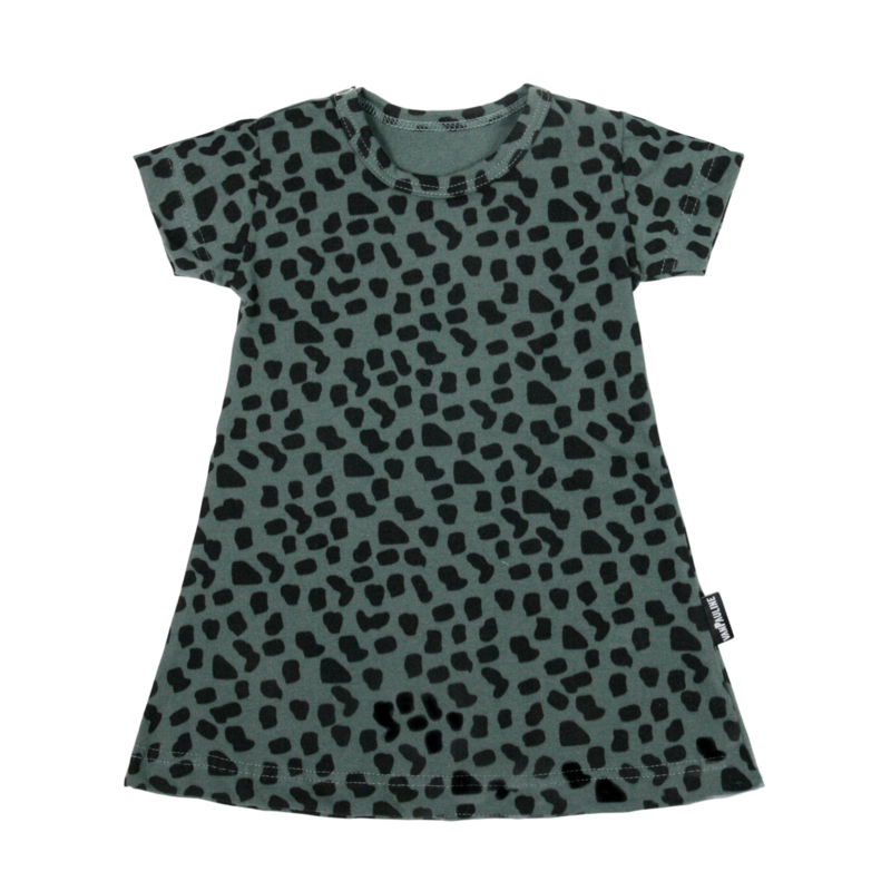 Dress Sea Green Spots Short SS20