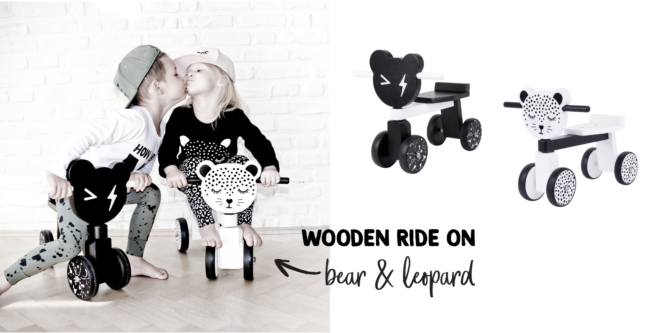 Wooden Ride On vanPauline