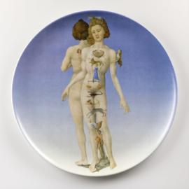 Diner- of dessertbord met afbeelding