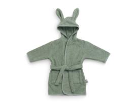 Baby badjas - Ash green - 1-2 jaar