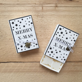 Soap in a box - MERRY - X - MAS