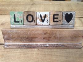 Scrabble Letterplankjes 20 cm t/m 60 cm