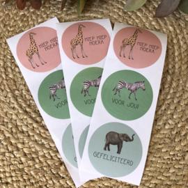 Stickers - Jungle - Nederlands