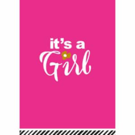 It's a Girl - Ansichtkaart