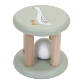 Houten rammelaar - Little Goose