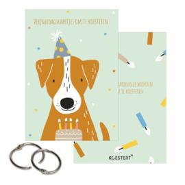 Verjaardagskaartjes - Bewaarbundel - Hond