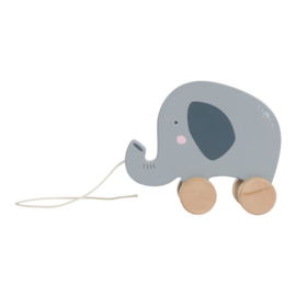 Houten trekdier olifant