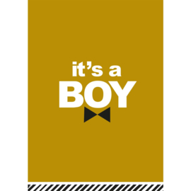 It's a Boy - Ansichtkaart