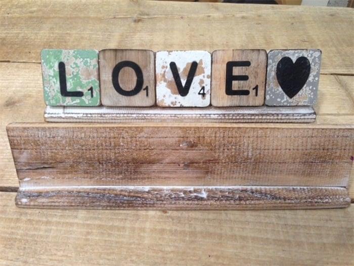 Scrabble Letterplankjes 20 cm t/m 70 cm