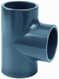 PVC T-stuk 90° lijm 25mm