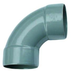 PVC afvoer Bocht 90 gr. d75mm