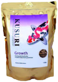 KUSURI GROWTH KOIVOER 15 KILO ZAK MEDIUM PELLETS (4-5 MM)