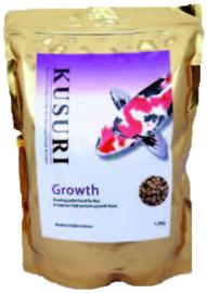 KUSURI GROWTH KOIVOER 1,5 KILO ZAK MEDIUM PELLETS (4-5 MM)