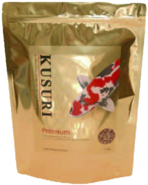 KUSURI PREMIUM 1,5 KILO ZAK MEDIUM PELLETS (6 MM)