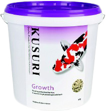 KUSURI GROWTH VOER 5 KILO EMMER MEDIUM PELLETS (4-5 MM)