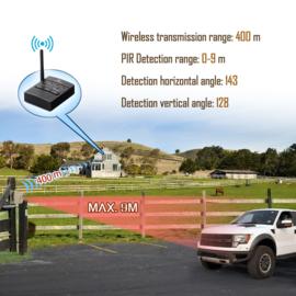 Emacros Opritverklikker - 1 Sensor 1 Ontvanger